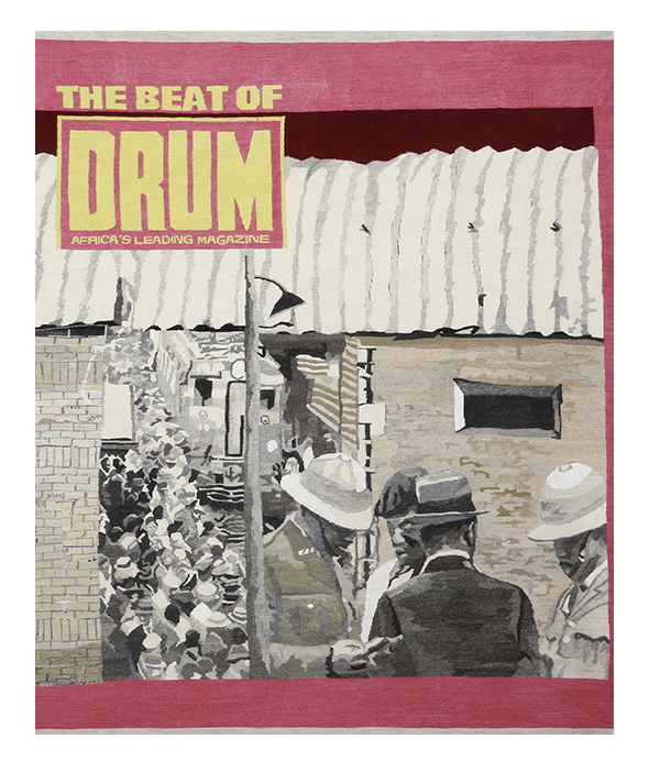 The beat of Drum Size: 2.10m x 1.75m