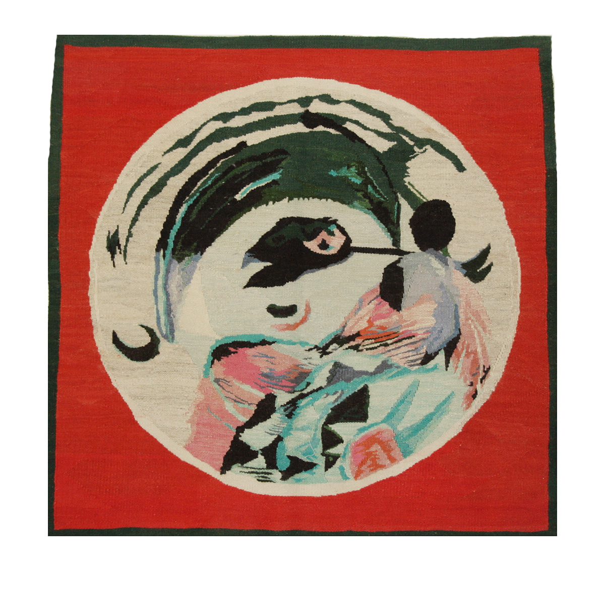 Rococo I Size: 1.02m x 1.09m First Woven: 2008 Edition of 5