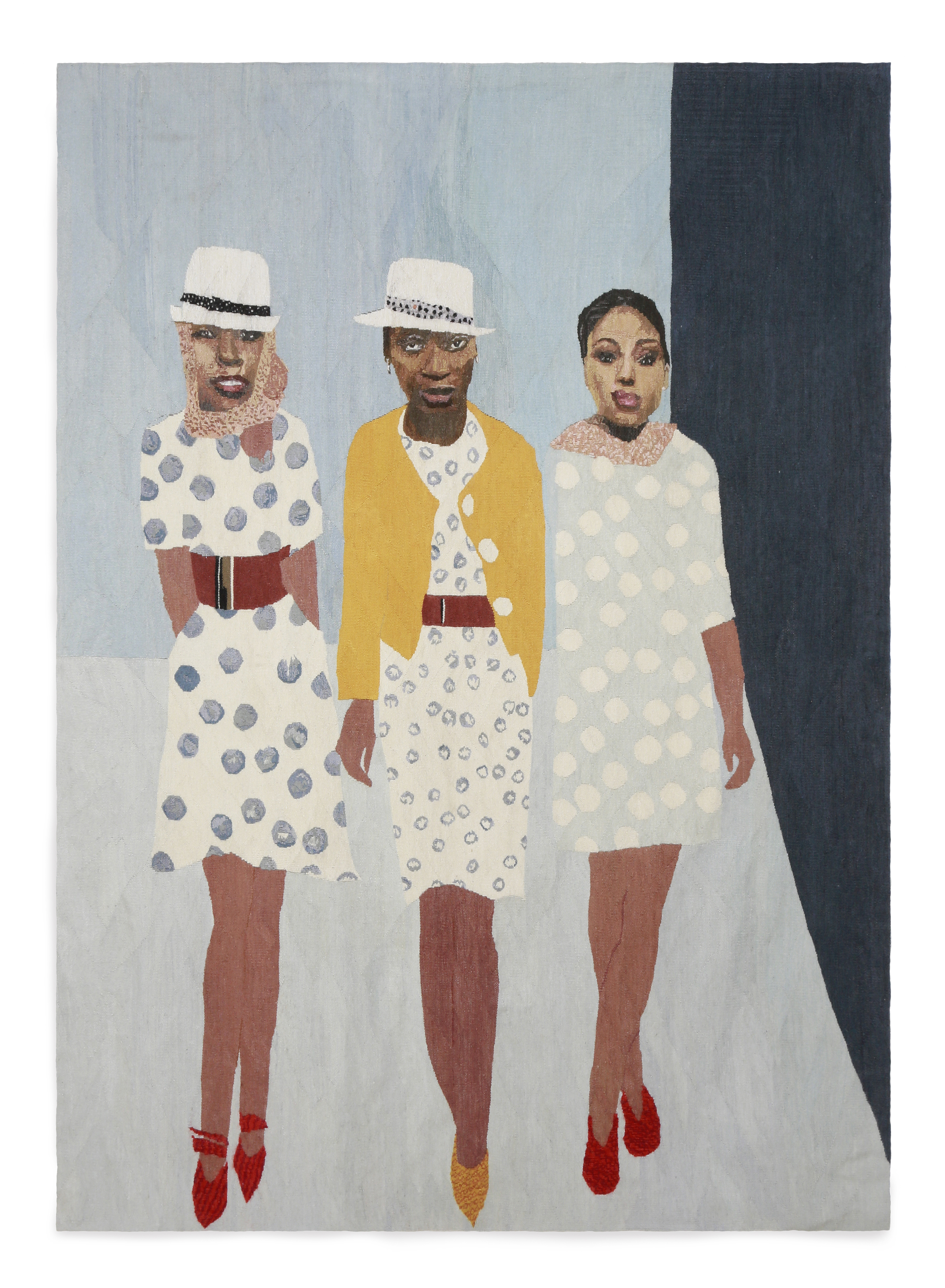 Models Size: 2.5m x 1.9m First Woven: 2012/13 Edition of 3