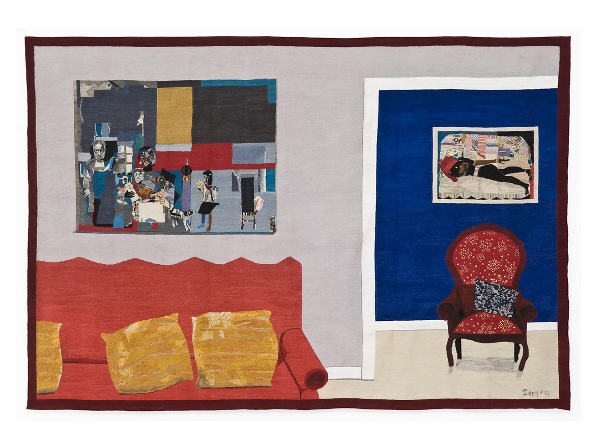 Homage to Romare Breaden Size: 2.5m x 3.6m First Woven: 2013 Edition of 3