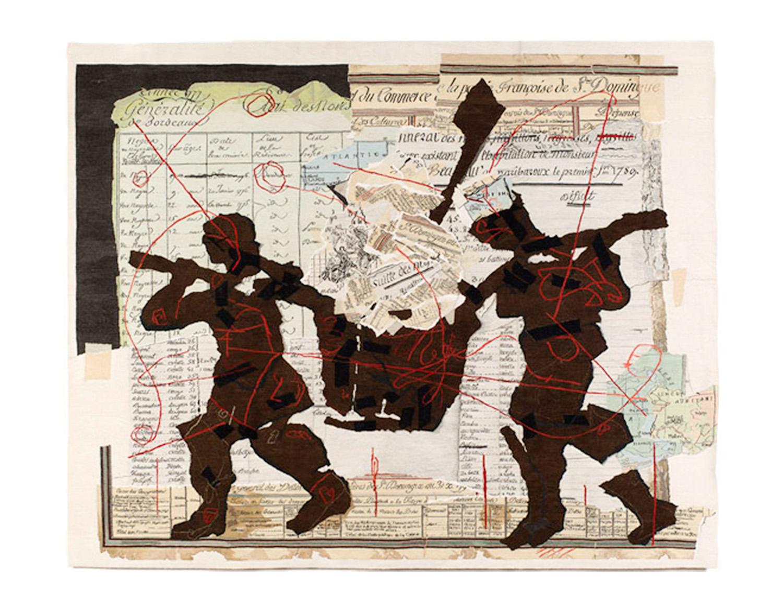 Tableau des Finances et du Commerce de la partie Francaise de St Dominique (Bordeaux) Size: 3.22m x 3.70m Edition of 6